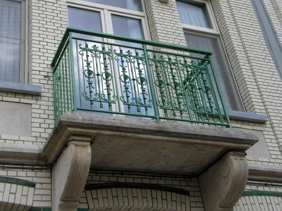 herstellen antieke balustrade