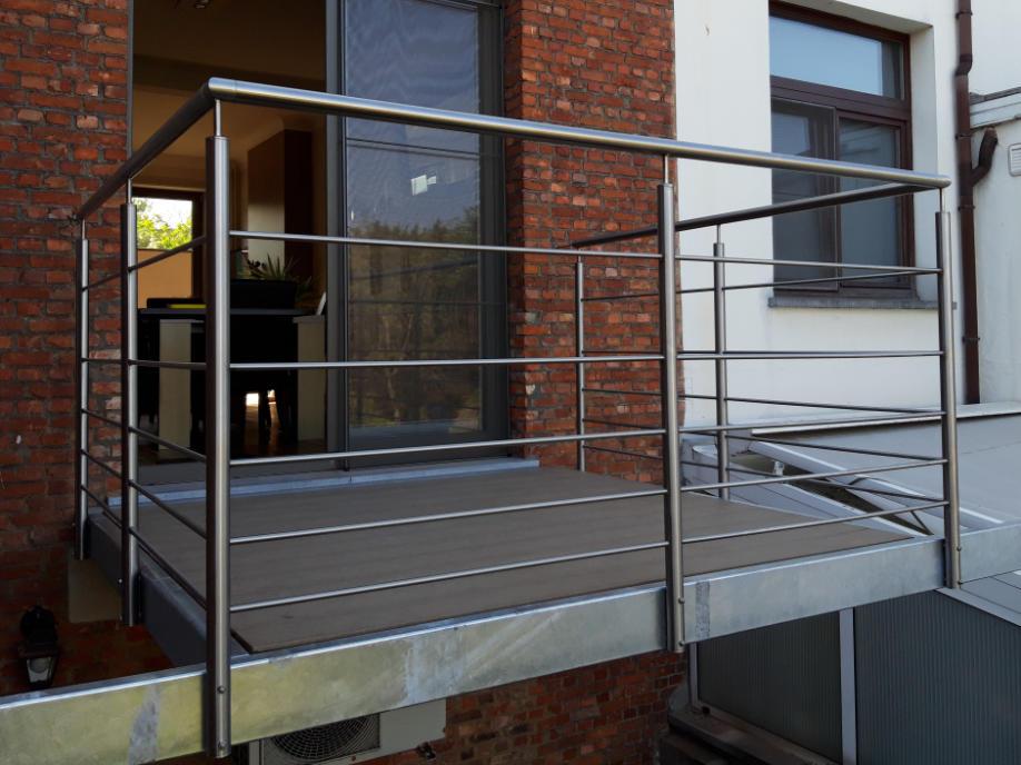 metalen terrasconstructie