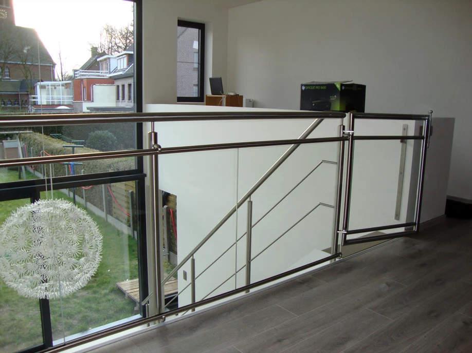metalen balustrade